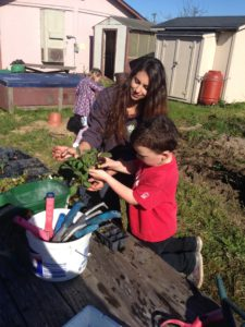 CCDay-Jamie helps in Garden 1